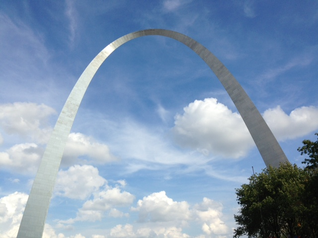 Gateway Arch in Saint Louis